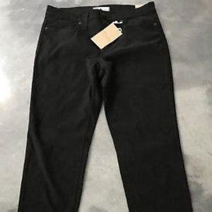 Madewell Highrise Black Skinny Jeans